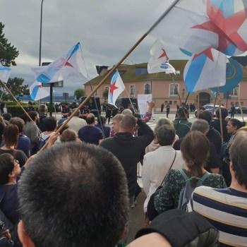 """Galiza non ten rei!: protesta contra Filipe VI """"por rei, por anacrónico e por antigalego"""""""