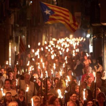 Após segundo aniversário 1-O Catalunha reforça o compromisso com a não-violência
