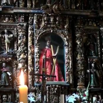 Retábulo. Santo André de Teixido