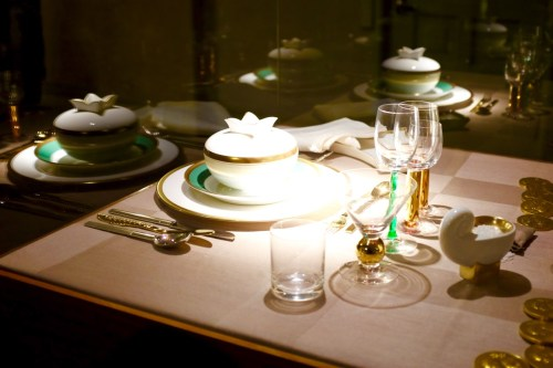 Nobel place setting