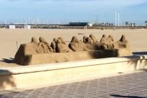 Catholic sand art