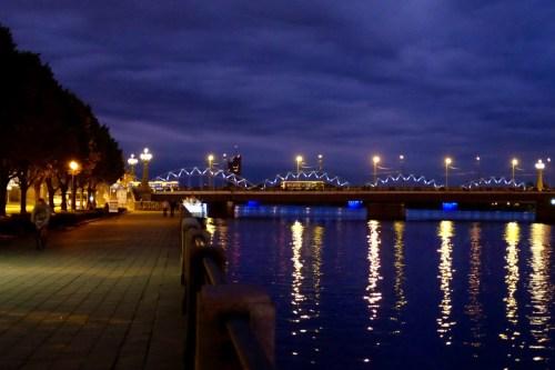 Daugava by night