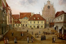 19th-century Town Hall Square