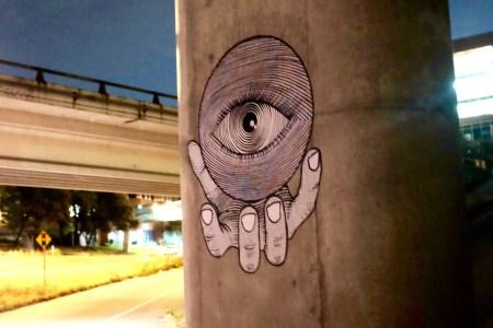 Street art, MoPac bridge