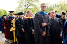 Faculty procession