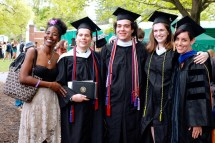 Howard lab graduates