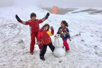 Snow sculptors*