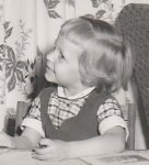 Diane Russell as child
