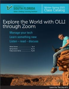 OLLI Course catalog cover