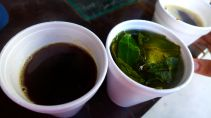 coffee and coca tea. though machu picchu, and ollantaytambo even moreso, are lower altitude than cusco, we continued partaking of one of the preferred elevation-sickness remedies in peru.