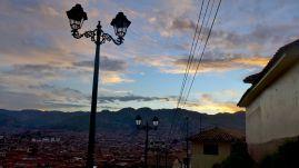 47 cusco sunset