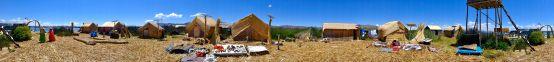 360 degree panorama of isla mama q'ota.
