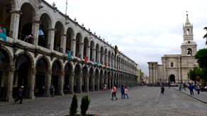 34 arequipa plaza de armas