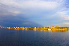 65 lake titicaca isla kantuta sunset