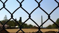 28 washington monument fence