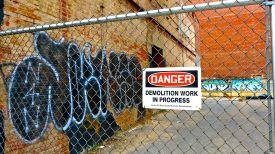 58 washington dc demolition work