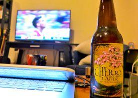 60 cherry blossom beer