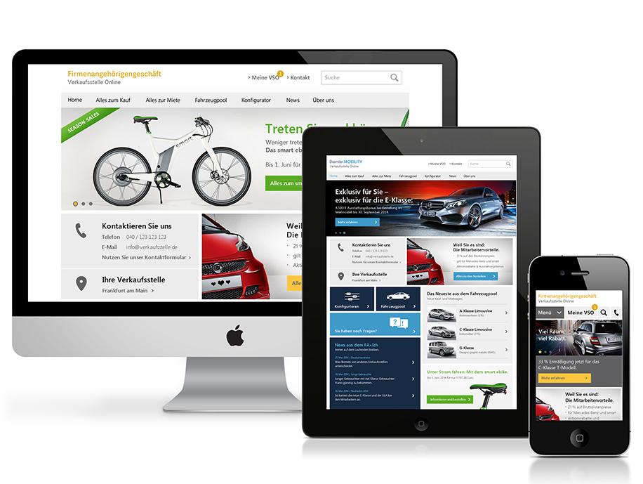 Daimler Mitarbeiter-Portal