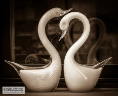 Life-long connection (glassware of Murano)