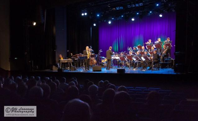 Savoy-teatteri, Helsinki 26 January 2012: UMO Jazz Orchestra with Eero Koivistoinen