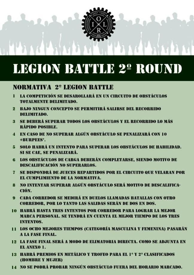normes legion
