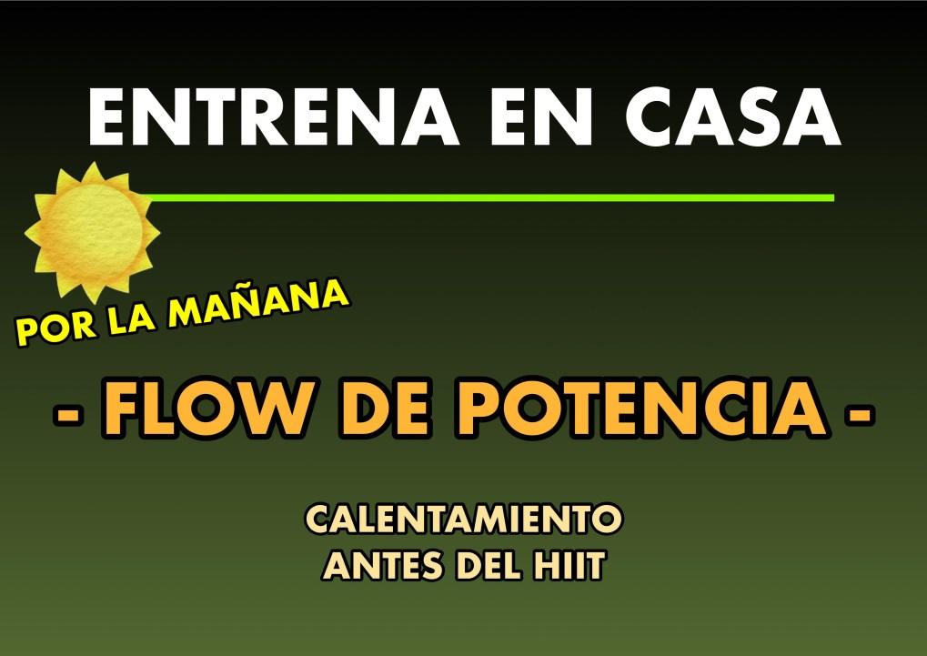 FLOW POTENCIA x3
