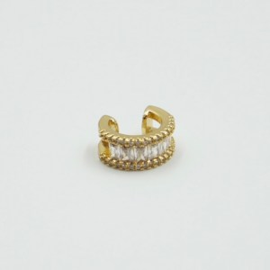 Ear cuff Zirconias