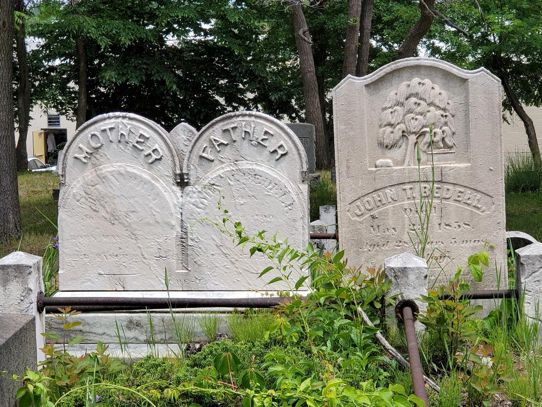Bedell headstones Bethel Cemetery Richmond Valley