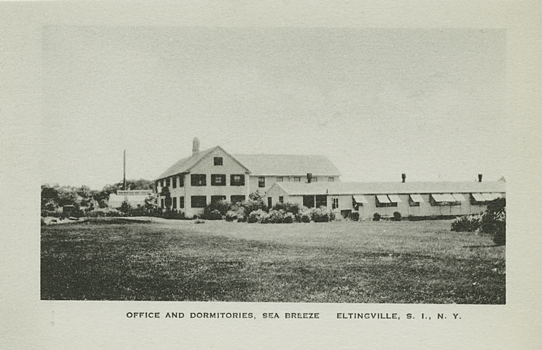 The Sea Breeze Home at Eltingville Beach, postcard