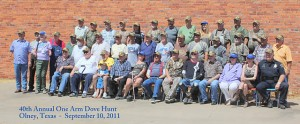 40th One Arm Dove Hunt