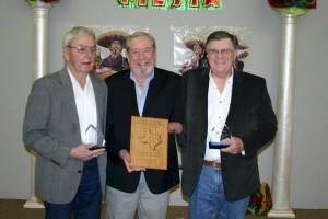Jack Bishop, Gene Alexander Presenting Award & Jack Northrup