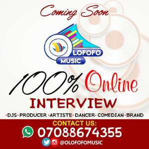 OLOFOFO ONLINE INTERVIEW + OLOFOFO TV