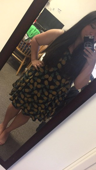 Pineapple dress from F21