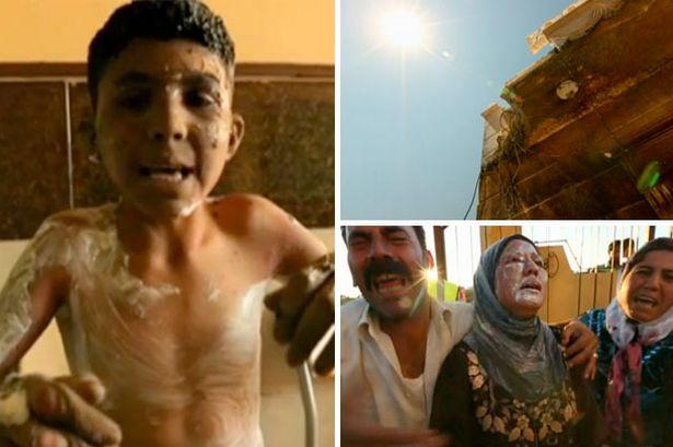 συρία επίθεση ναπάλμ