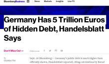 Η Γερμανία κρύβει χρέος €5 ΤΡΙΣ! – Handelsblatt