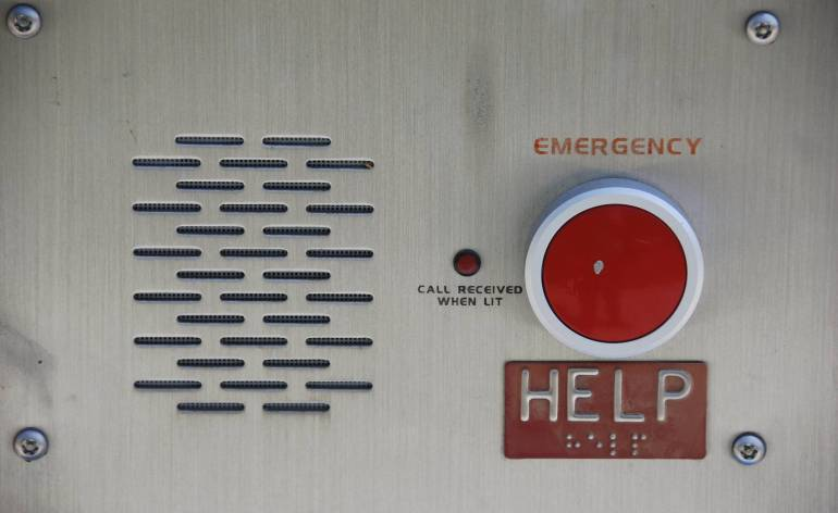 Emergency-Call-Box