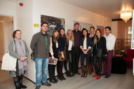 TBG launch_Grecotel Pallas Athena with artist Mathew Halpin
