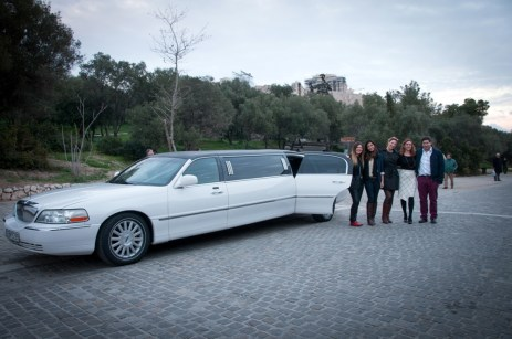 TBG launch_Sattas Group limo tour2