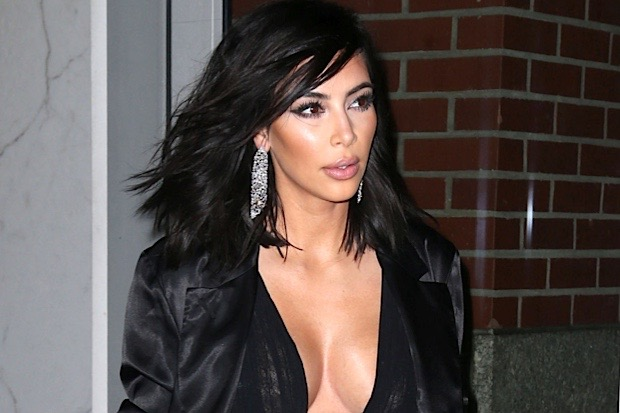 Kim Kardashian Leaving Her Apartment In NYC