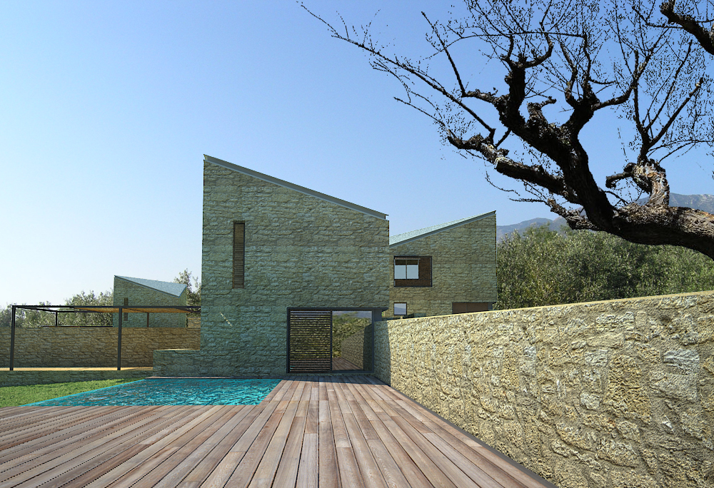summer house in mani- commission