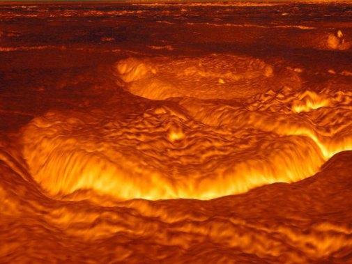venus-magma