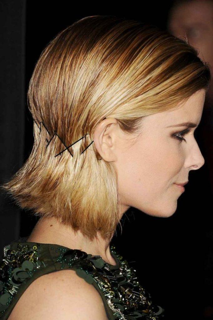 Penteados fáceis no cabelo curto chanel