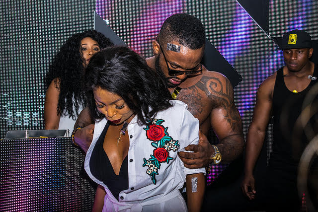 Iyanya Gets Kenya Girls Drooling At Pool Side Party