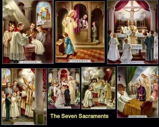 Sacraments | Our Lady Queen of Peace | Wichita Falls, TX