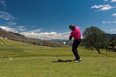 A photo shoot of the New Gold fundraising golf tournament in support of the Kamloops Food Bank