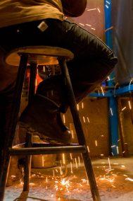 TRU Women in Trades publication Industrial photo shoot