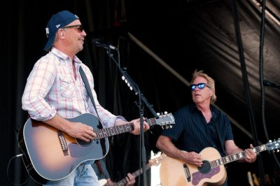 Special Event photoshoot for Sun Peaks, as actor and musician Kevin Costner rocks the mountain during the summer festival.