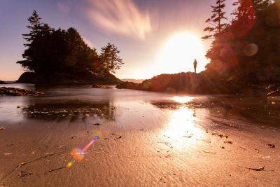 Lifestyle stock photoshoot for Tourism in Tofino, BC