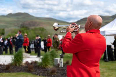 Tribute Ceremony in Kamloops for Captain Jenn Casey of the RCAF Snowbirds