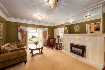 Architectural real estate photoshoot of heritage home in Kamloops